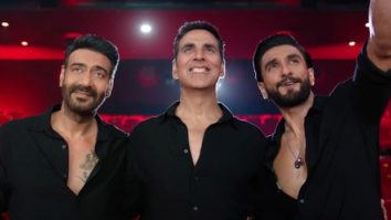 Sooryavanshi stars Akshay Kumar, Ajay Devgn, and Ranveer Singh welcome you back to the theatres with a special video